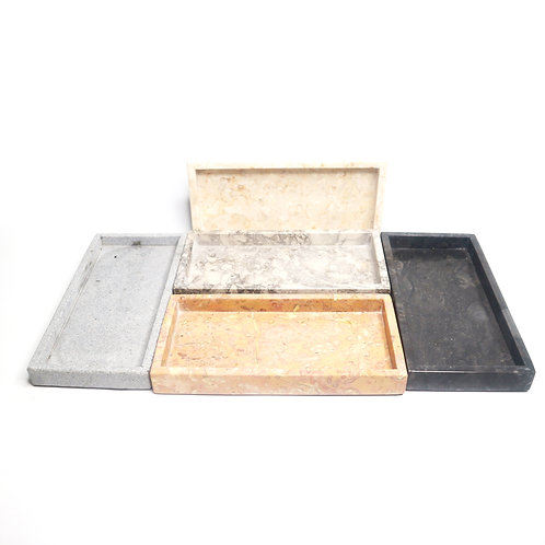 Modern Marble Style Dispenser Tray