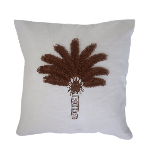 Coco Palm Hand Embroidered