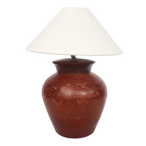 Table Lamp With Batik Motif