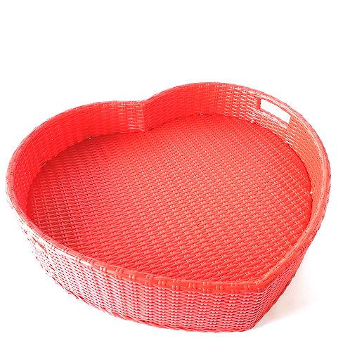 Floating tray heart shape