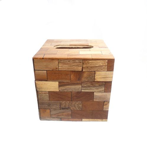 Aesthetic Wooden Arrange Tissue Box Cover