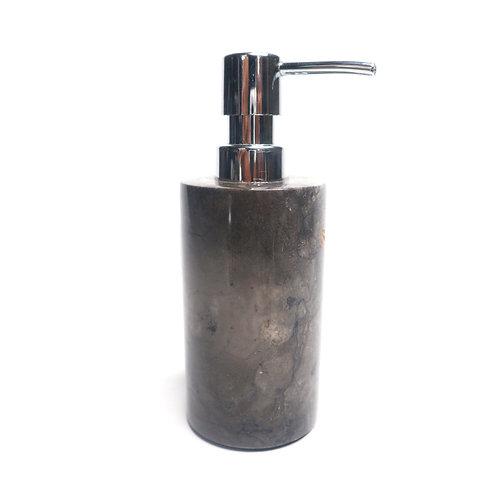 Refillable Black Dispenser Pump Bottle for Bathroom Vanity