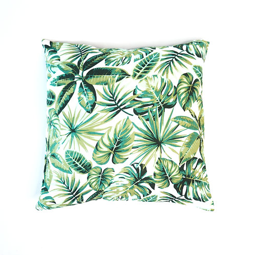 Tropical Green Leaf Pillow Case