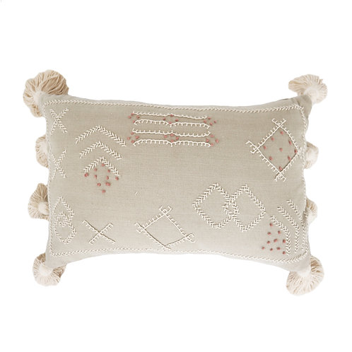 Beautiful Putri Hand Embroidered Pillow Case