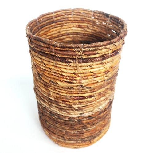 Handwoven Water Hyacinth Baskets