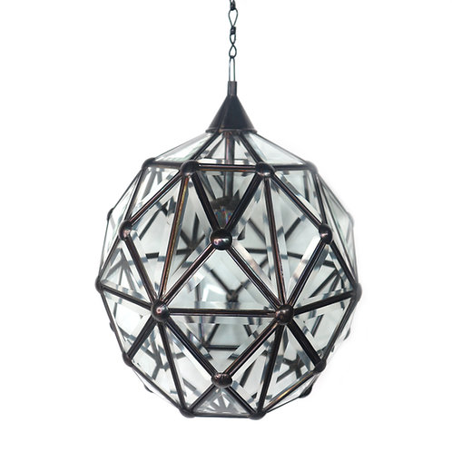 Ceiling Glass Lamp