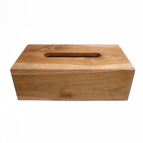 Rectangular Wooden Tissue Box Cover