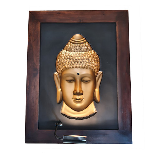 Golden Budha 3D Wall Art Lamp