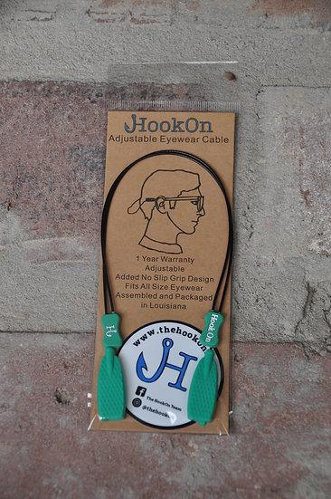 SeaFoam Green HookOn Adjustable Eyewear Cable
