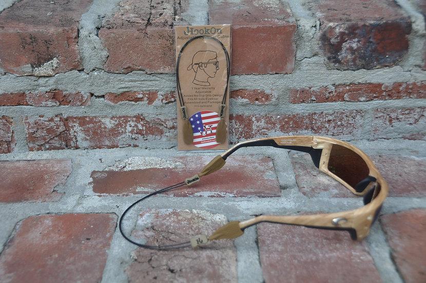 Old Gold HookOn Adjustable Eyewear Cable