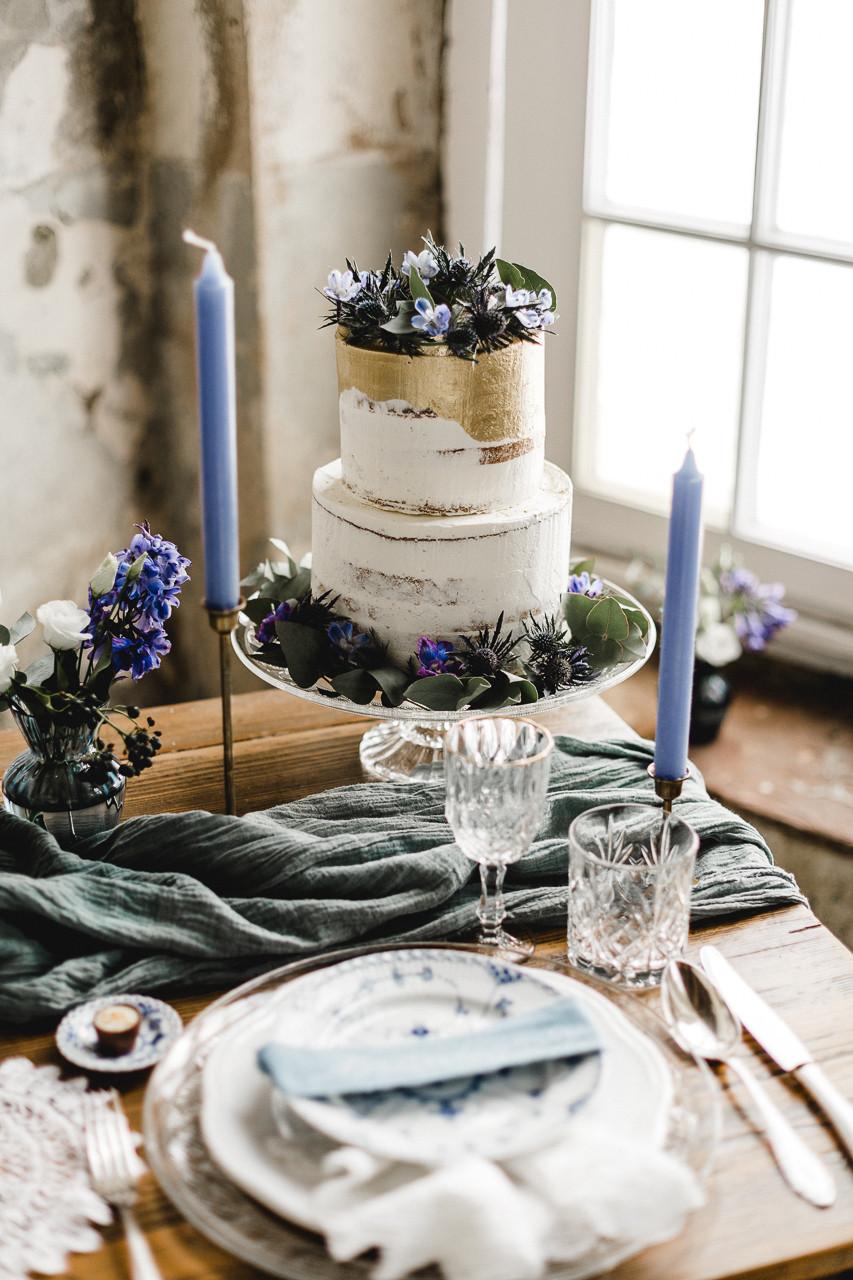 Vintage Hochzeit Torte