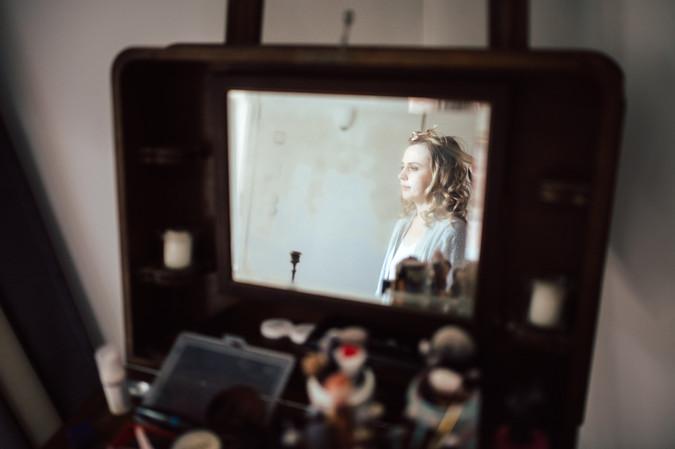 Brautstyling Haare und Makeup Hochzeitstag