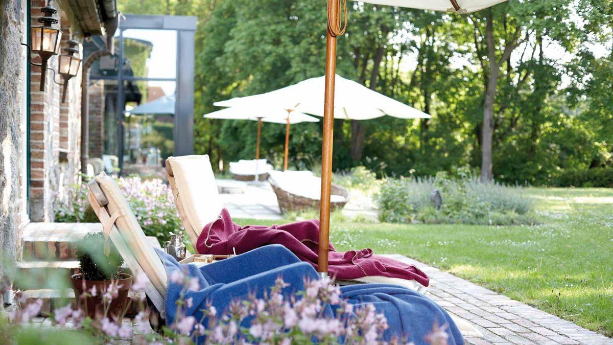 Zimmer mit Terrassen