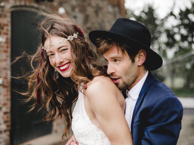 Boho-Glam Hochzeitsinspiration