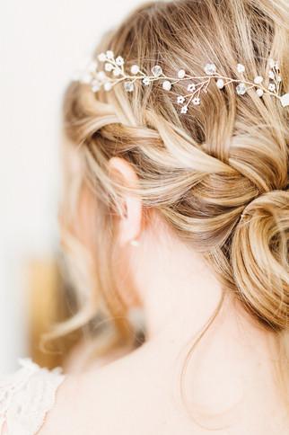 Headpiece Braut