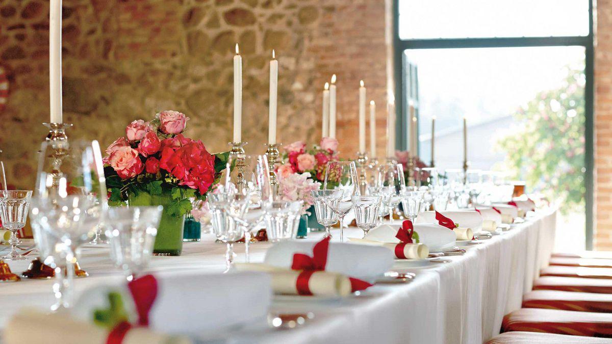 Hochzeitstisch Gutshaus Stolpe