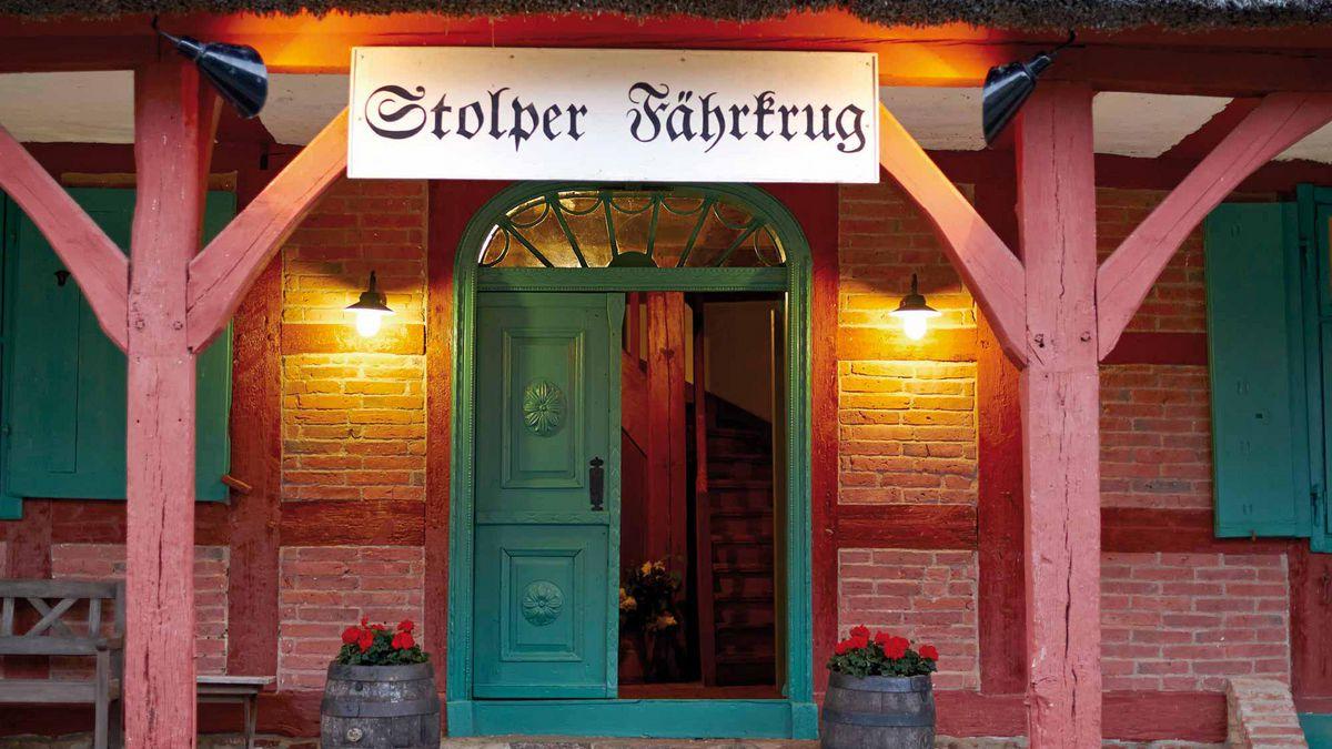 Eingang Stolper Fährkrug