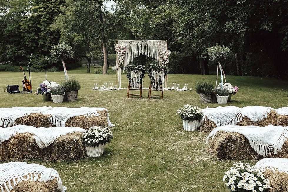 Boho Hochzeit Dekoration