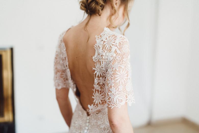 Brautfotos vom Getting Ready