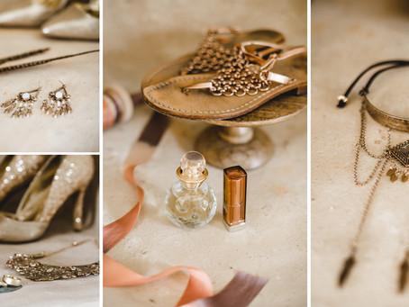 Fotos vom Getting Ready am Hochzeitstag