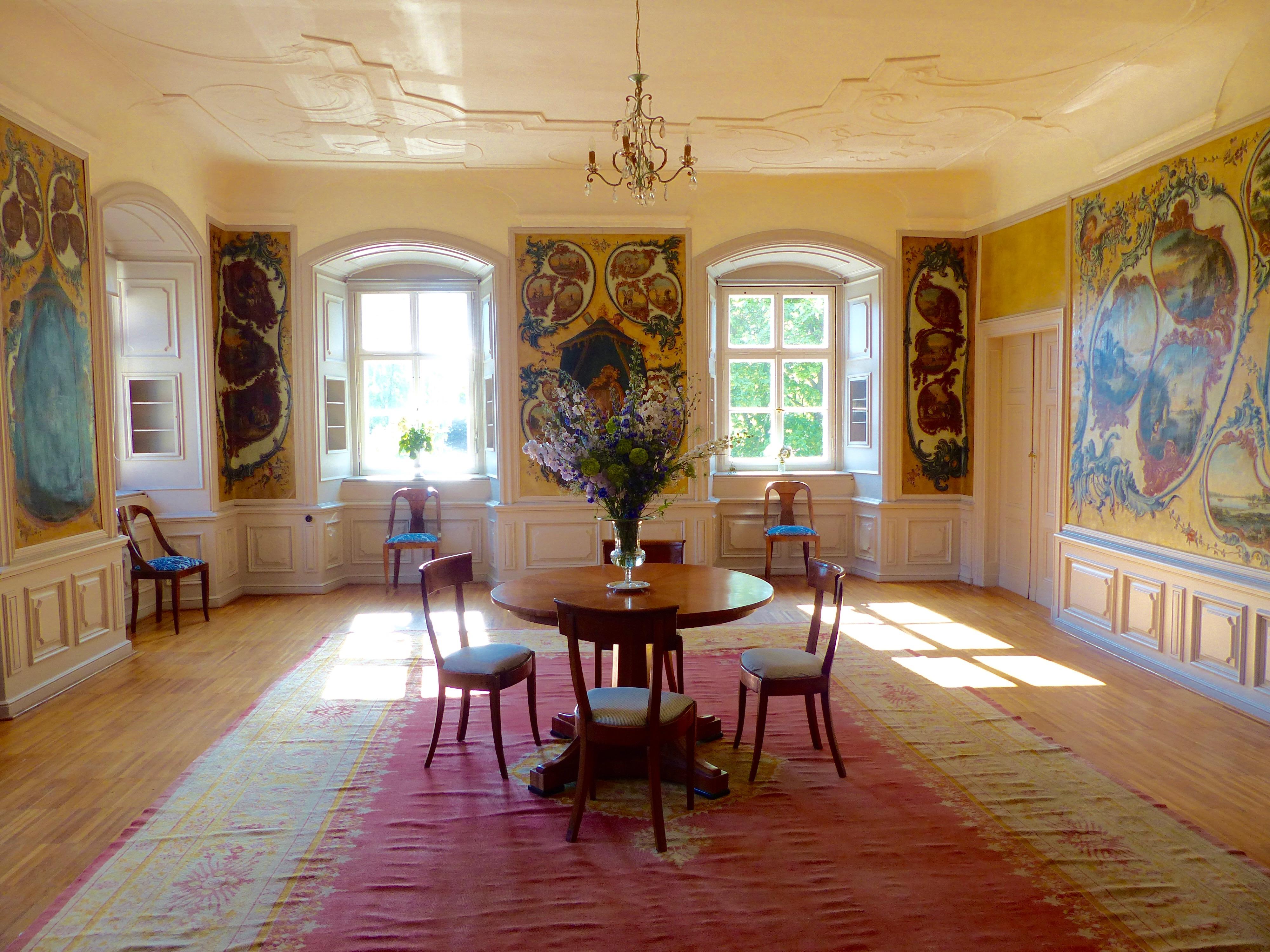 Trauzimmer Schloss Ahlsdorf