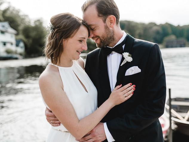 Hochzeit am Berliner Wannsee