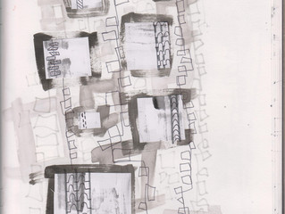 Experimental Drawing and Collages