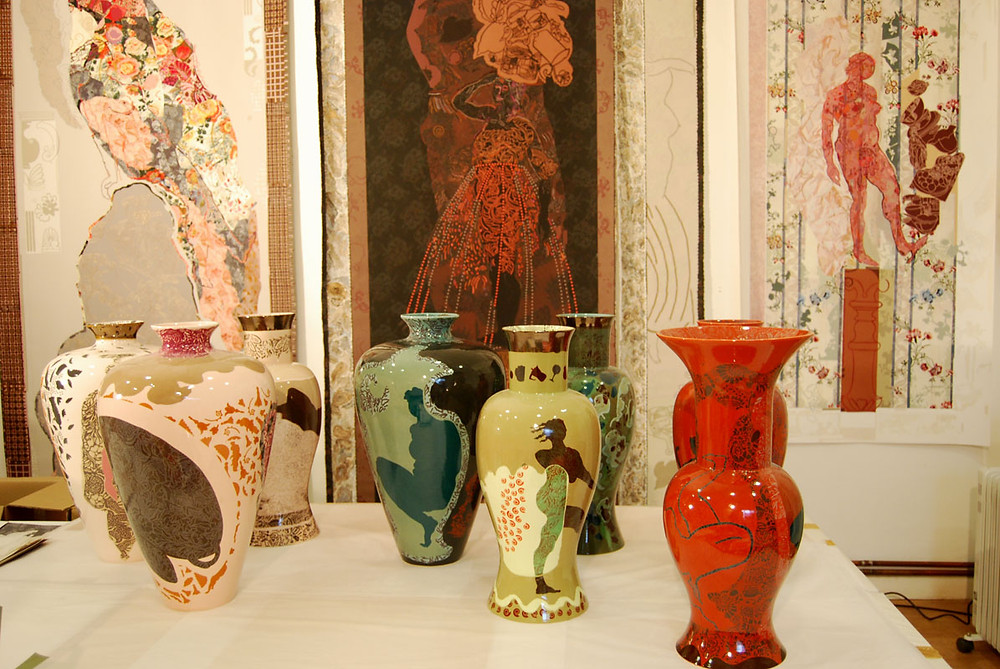 Vases_and_paper_cuts_Charlotte_Hodes_Represented_at_COLLECT_by_Jaggedart_Photo_c