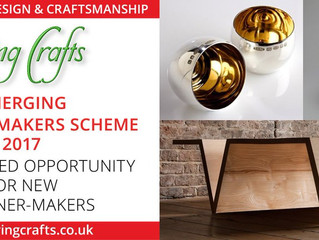 Selected for Living Crafts Emerging Designer-Makers Scheme, Hatfield House May 2017!