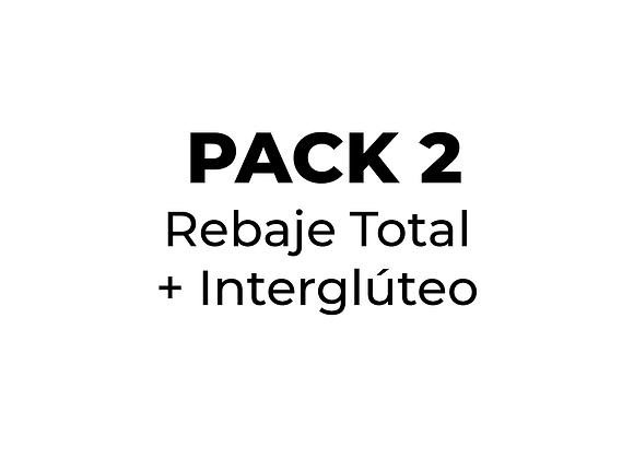 Depilación Láser Pack 2