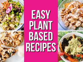 4 Easy Plant-Based Recipes To Add Into Your Diet