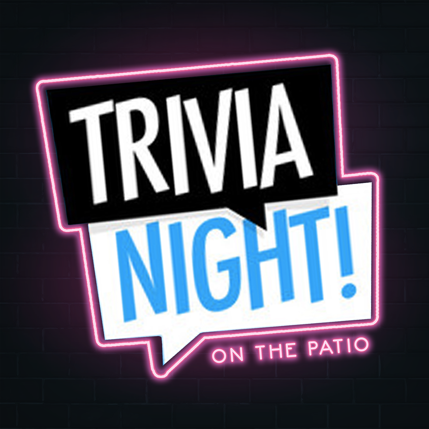Weekly Trivia on the Patio