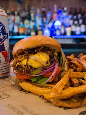 Burger and a Bump