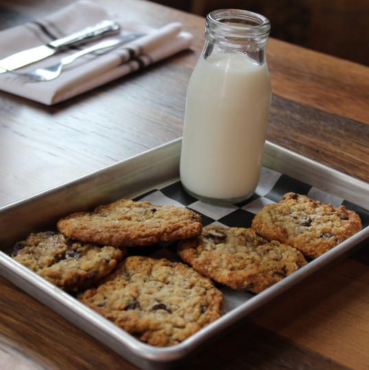 Grandma Sally's Chocolate Chip Oatmeal Cookies