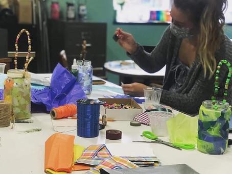 Throwing Beams, Creating Art, Building Community