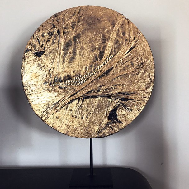 sculpture lune or