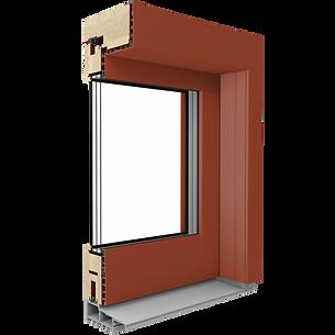 HS DUOLINE  Elegante und beständige Hebe-Schiebe-Türen aus Holz und Aluminium