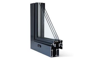 MB-70  Das moderne Aluminiumsystem für anspruchsvolle wärme- und schallgedämpfte Architektur.