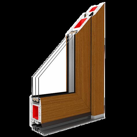 Die Türen IGLO Energy  Perfekte Verbindung moderner Optik mit gerundeten Linien des Profils  Eigenschaften  Sehr gute Parameter der Wärme und Schalldämmung. Die reiche Auswahl von Renolit-Folien und Türfüllungen ermöglicht eine beliebige Gestaltung. Langlebig und stabil. Hohe Sicherheit dank dem Einsatz von hochwertigen Türbeschlägen. Elegantes Design, konform mit den neuesten Architekturtrends. Die breite Auswahl von Formen und Mustern, die den Türen einen ausgezeichneten Charakter verleihen. Niedrige Schwelle sorgt für hohen Nutzungskomfort. 