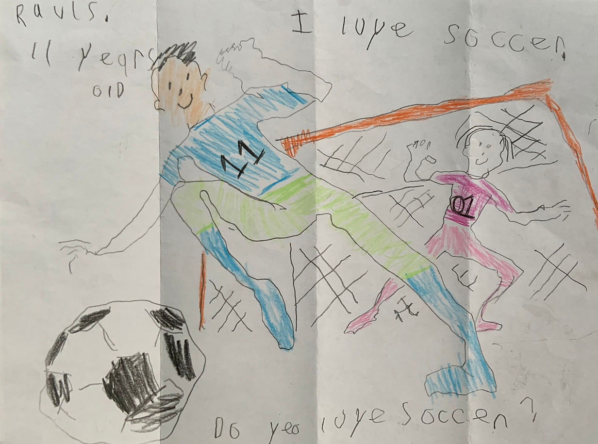 Soccer Card by Rauls