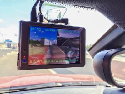De dashcam in vrachtwagens is in opmars