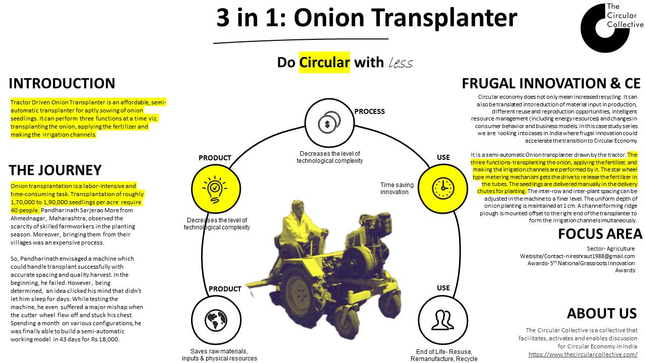 Onion transplanter
