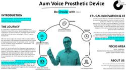 Aum Voice Prosthetic device