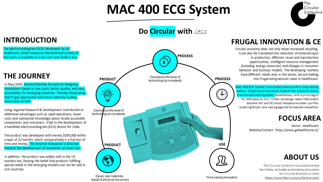 MAC 400 ECG system