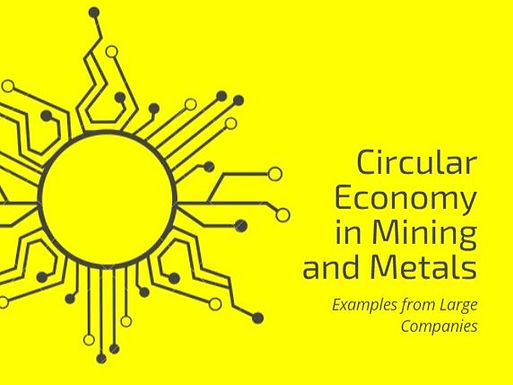 Circular Economy in Mining and Metals