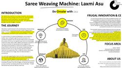 Saree weaving machine
