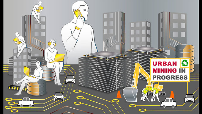 Urban mining is the key to sustain the Cities of future
