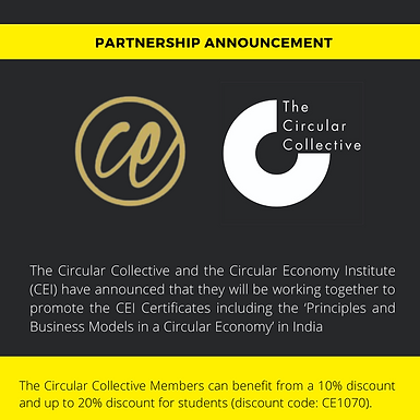 The Circular Collective and the Circular Economy Institute partner up to offer CE Certificate