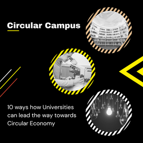 10 ways how Universities can lead the way towards Circular Economy
