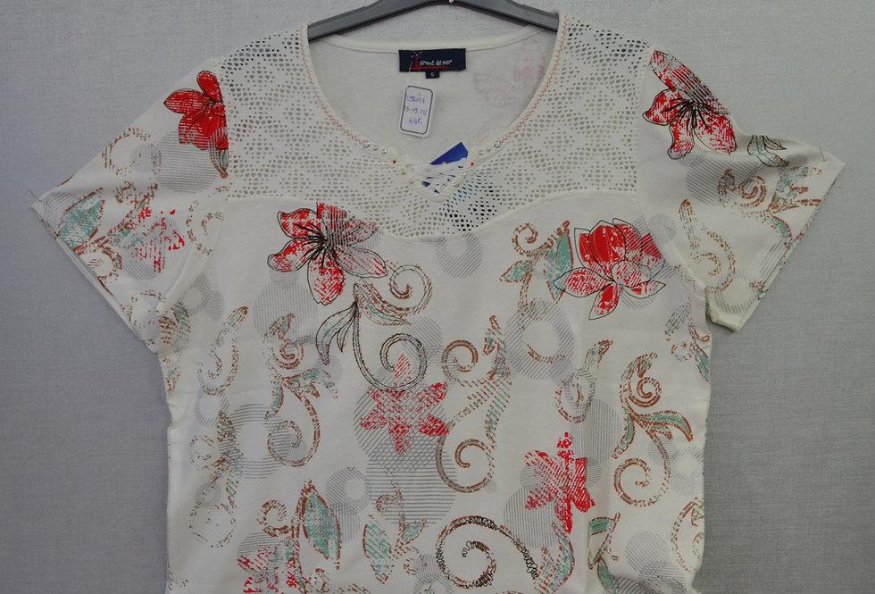 "Tee-shirt  ""FRONT DE MER"" 03/19"